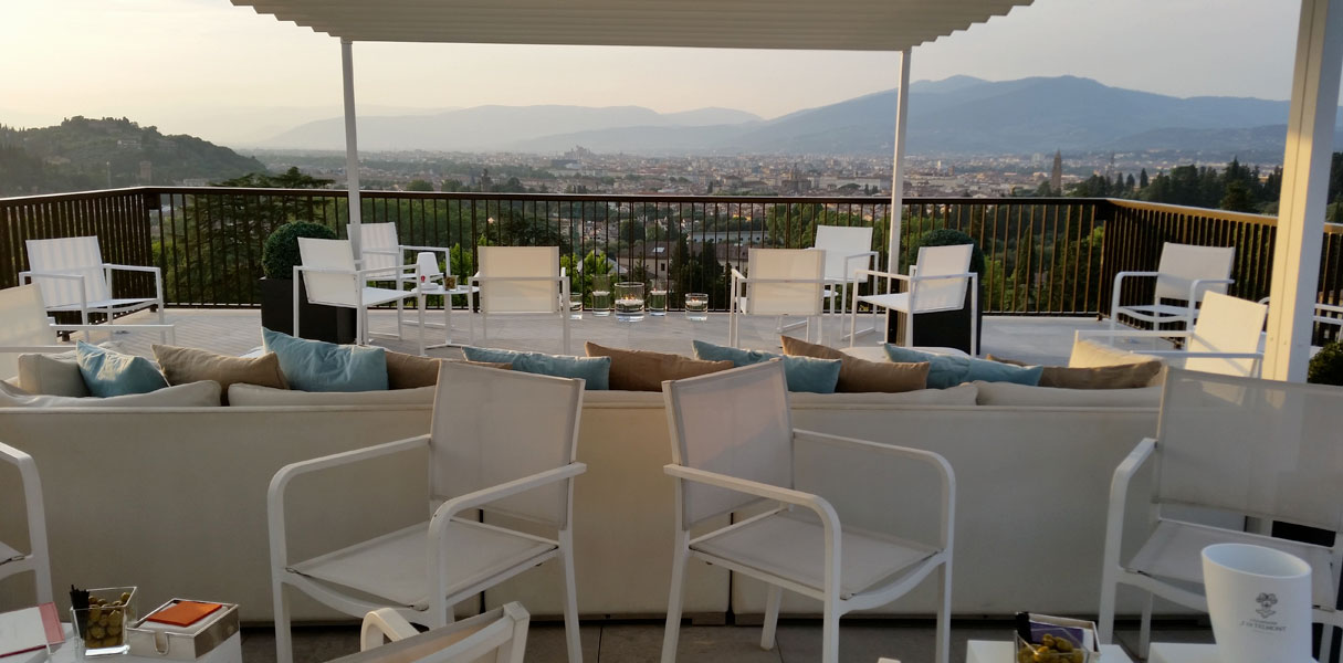Bellevue Roof Terrace terrace with mesmerizing view of Florence ...