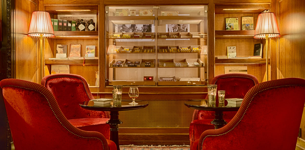 how to build a cigar room