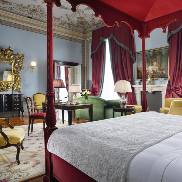 Imperial Suite Florence - prestigious room Villa Cora