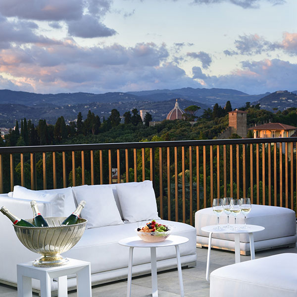 Bellevue Roof Terrace Terrace With Mesmerizing View Of
